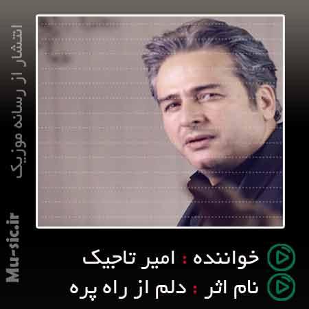 آهنگ دلم از راه پره امیر تاجیک بیس دار